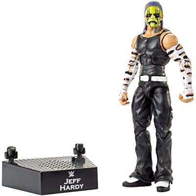 WWE Entrance Greats Jeff Hardy Action Figure: Toys & Games