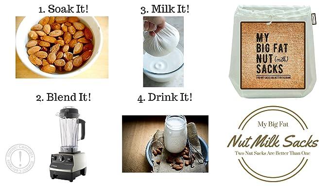 BlankIt! Concepts My Big Fat sacos de leche de nueces 2 ...