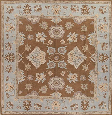 Amazon Com Rug Source Large Square 12x12 Traditional Hand Tufted