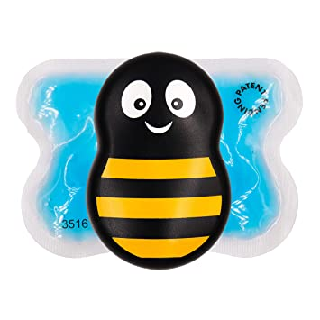 Buzzy Mini Personal Striped - Pain relief for first aid, injections, aches,  injuries, and more