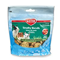 Deals on Kaytee Timothy Biscuits Baked Apple Treat 4Oz Bag