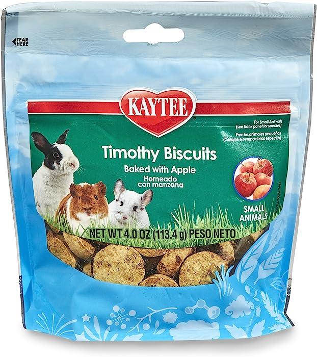 Kaytee Timothy Biscuits Baked Treat -- Apple 4 oz