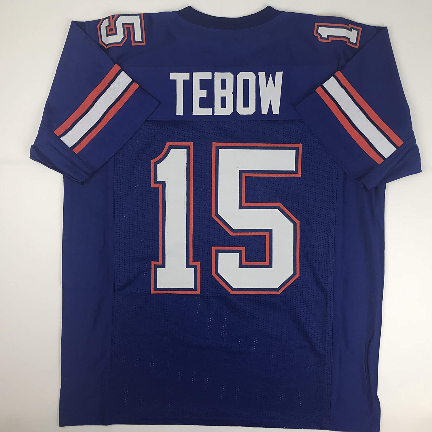 info for ea7a4 fc135 Amazon.com: Unsigned Tim Tebow Florida Blue Custom Stitched ...