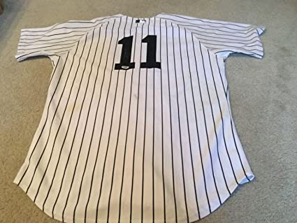 Brett Gardner Signed Game Used Jersey - 19693b487d6