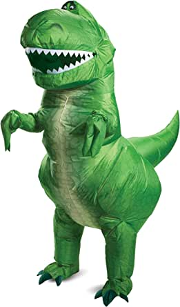 Disguise Disney Toy Story 4 Rex Inflatable Adult Costume