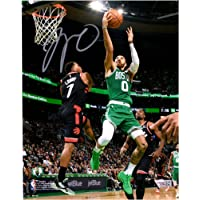 "$104 » Jayson Tatum Boston Celtics Autographed 8"" x 10"" Lay Up Over Lowry Photograph - Fanatics Authentic Certified"