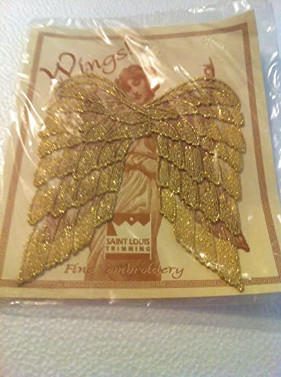 Amazon One Pair Angel Wingssaint Louis Trimming Embroidery