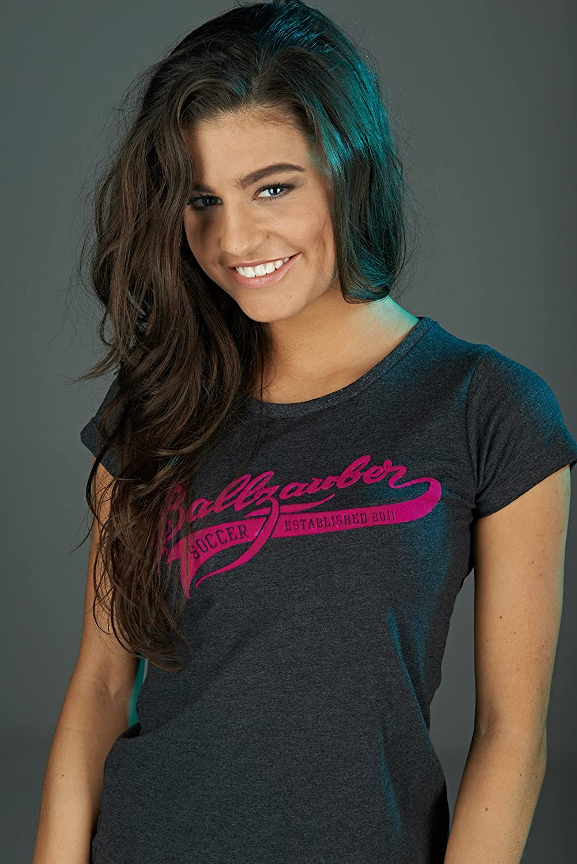 Ballzauber Damen T-Shirt Lifestyle – dark grey 1010-03
