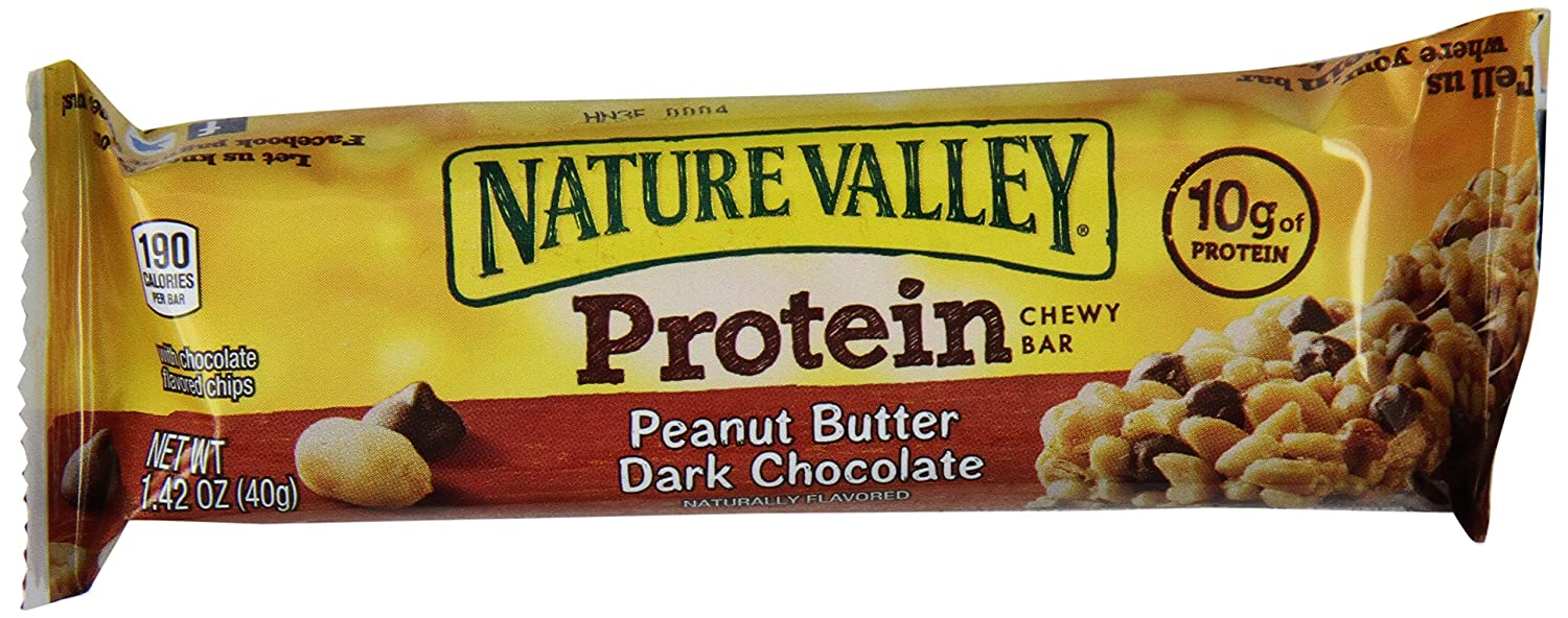 Nature Valley Protein Chewy Bar, Peanut Butter Dark Choclate, 25.56 Ounce
