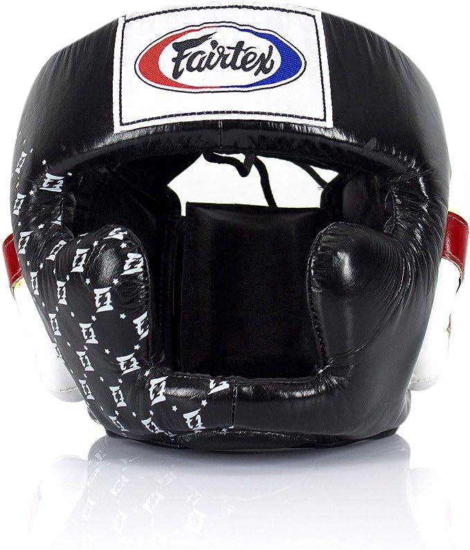 NWT Fairtex Muay Thai Boxing Head Guard HG14 Full Face Head Gear w// RETAIL BOX