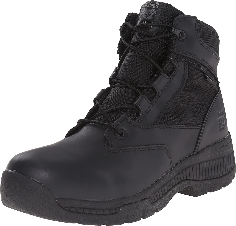 Oeste entonces ganado  Timberland Pro Mens 6 In Valor Duty WP Shoe: Amazon.co.uk: Shoes & Bags