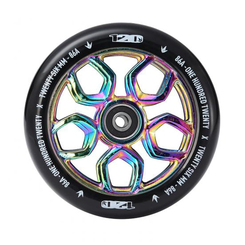 Blunt 120mm Lambo Scooter Wheel Neochrome