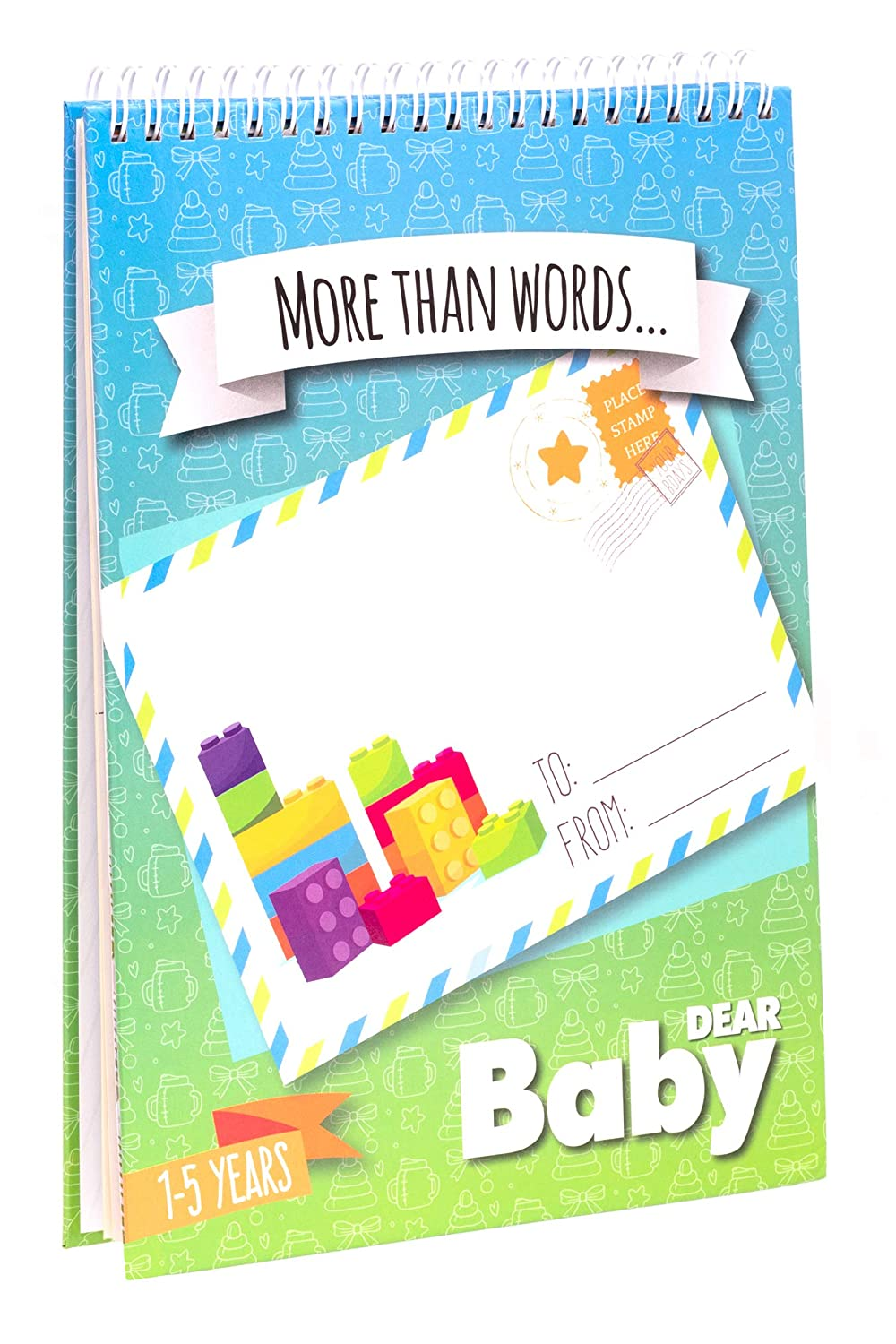 Letters to My Baby: First Five Years Memory Book - Scrapbook. Write Now. Paste Photos. -...