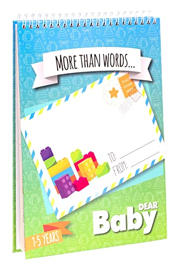757357b5eb Letters to My Baby  First Five Years Memory Book - Scrapbook. Write Now.