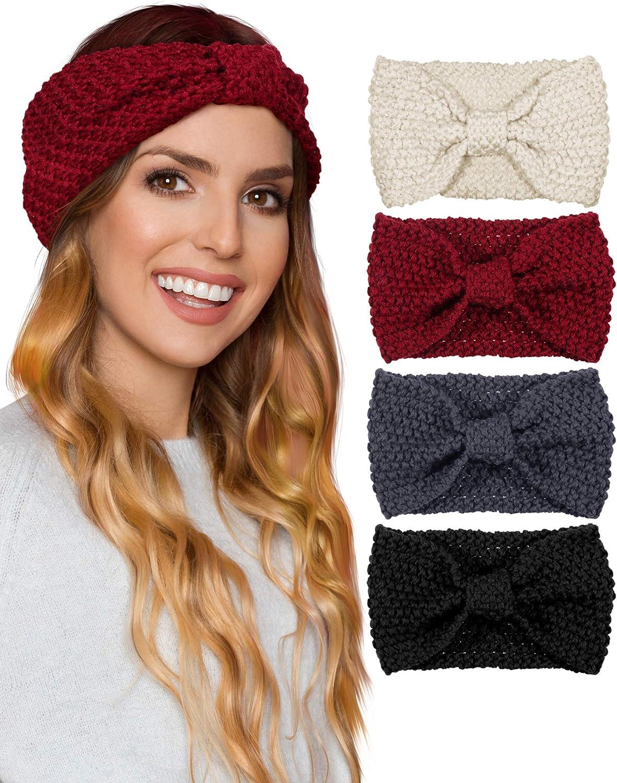 Knit Crochet Headband...