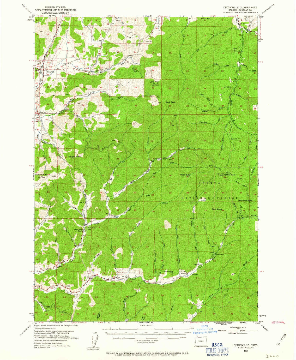 Amazon Com Yellowmaps Dixonville Or Topo Map 1 62500 Scale 15 X