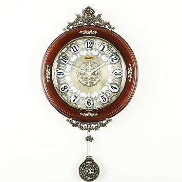 saint mossi traditionnel vintage rétro horloge murale de style