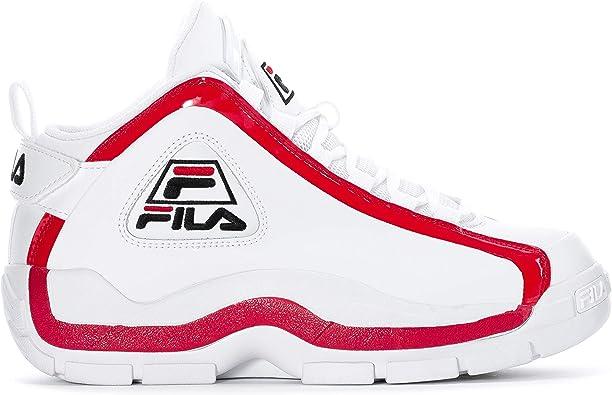 Fila Men's Grant Hill 2 Basketball Shoes (7.5, WhiteFila