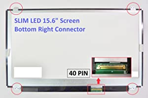 Lenovo Essential G505S 20255 Laptop Screen 15.6 Slim LED Bottom Right WXGA HD
