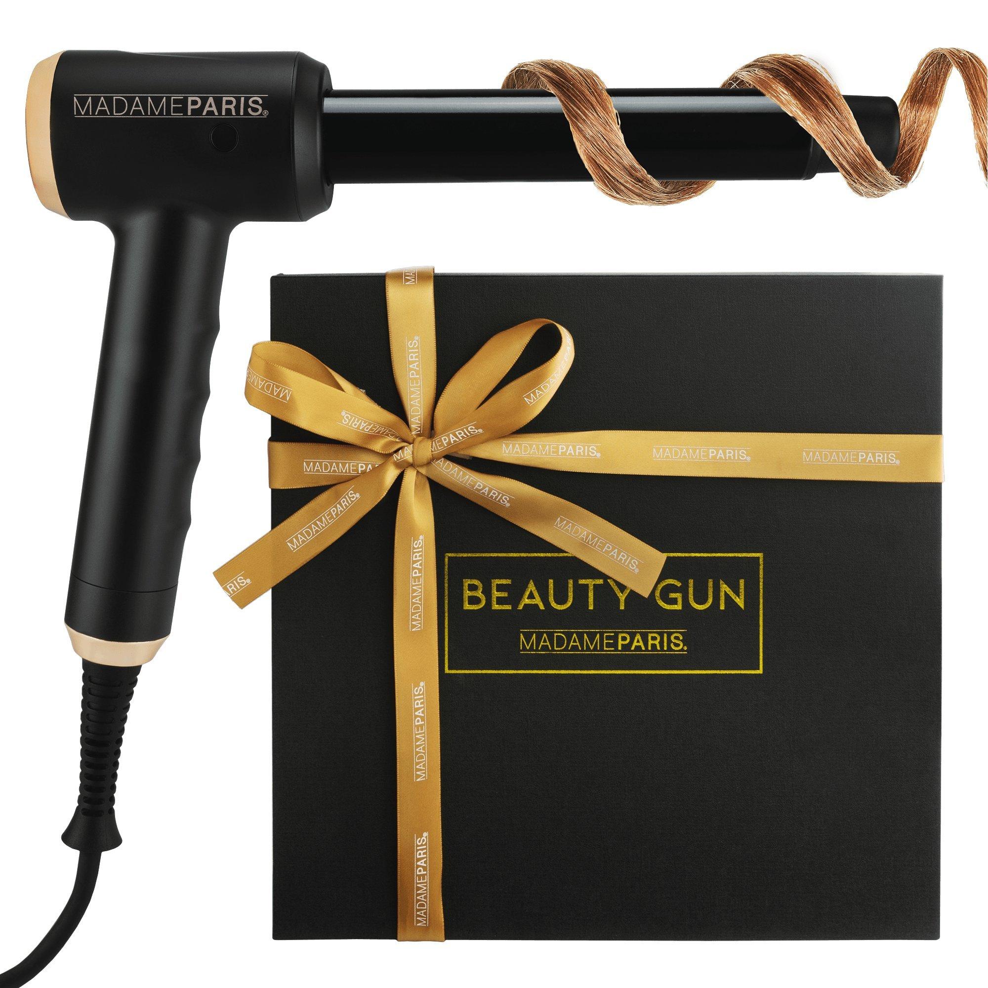 MadameParis - Fer à Boucler - Beauty Gun - Boucleur Cheveux - Coiffeur - Qualité Professionnelle - Céramique - 25mm product image