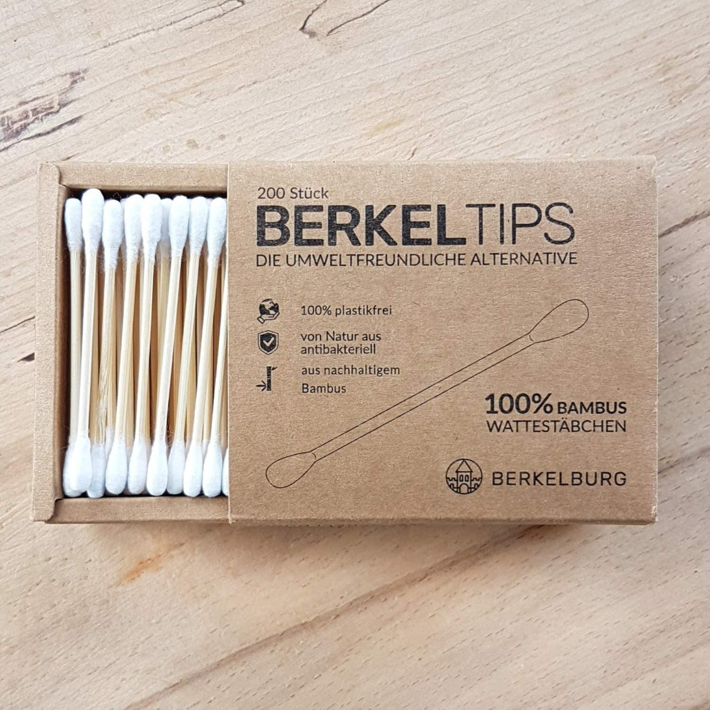 Bastoncillos de bambú (4 paquetes de 200 unidades, antibacterianos ...