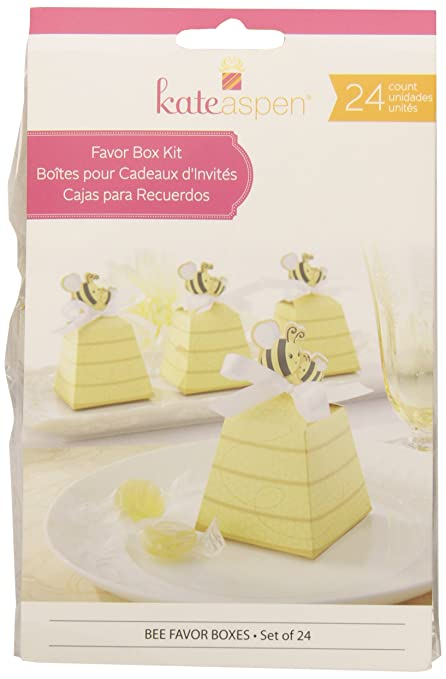 Amazon Kate Aspen 24 Count Sweet As Can Bee Mom And Baby Beehive Favor Box Gift Sets