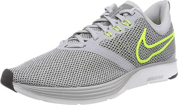 Nike Zoom Strike, Zapatillas de Running para Hombre, Gris (Wolf ...