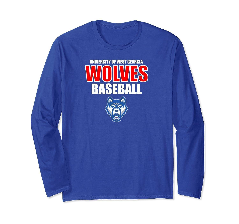 West Georgia Wolves UWG Baseball Long Sleeve T-Shirt-prm – Paramatee 8131dddf5