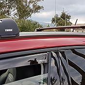 S Thule 959220 Wingbar Edge Fixpoint//Flushrail Nero 2 pezzi