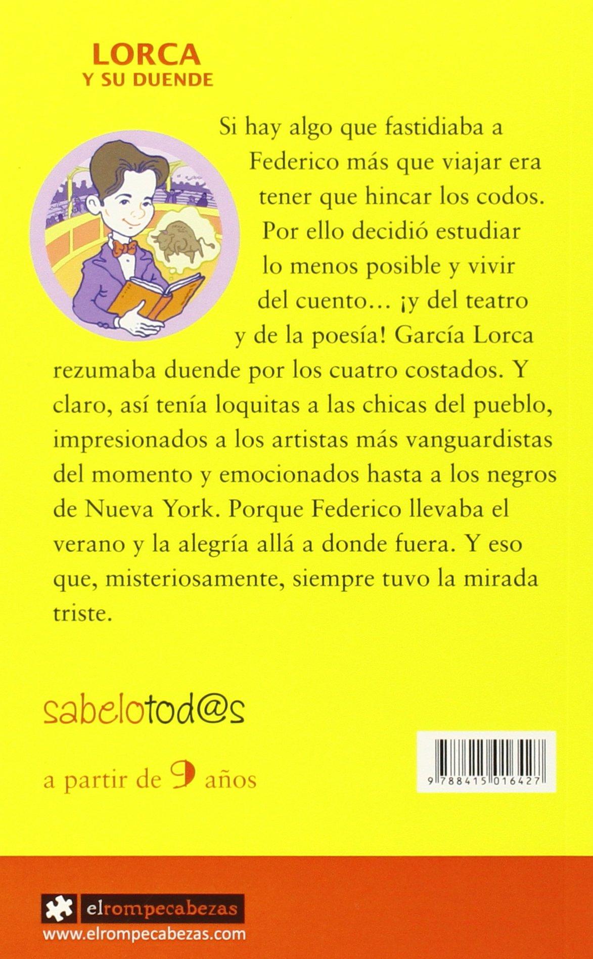 LORCA y su duende: Sara Cordón Hornillos: 9788415016427: Amazon.com: Books