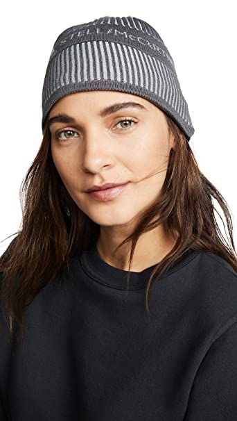 12210e26b3d adidas by Stella McCartney Women s Running Beanie Hat  Amazon.ca  Clothing    Accessories