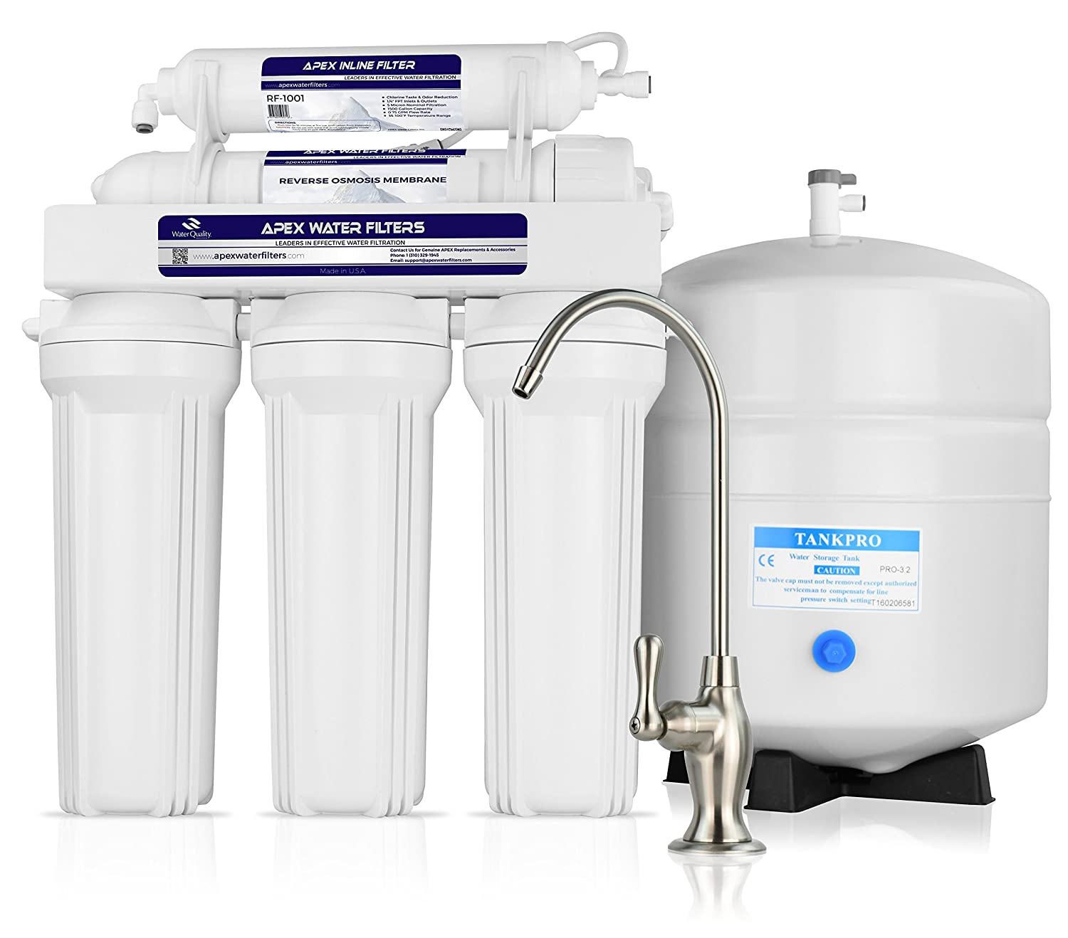 Amazon APEX MR 5050 5 Stage Reverse Osmosis Drinking Water