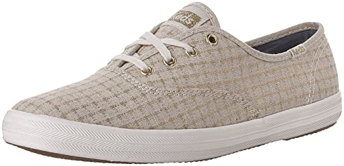 3ae3b79ba Image Unavailable. Image not available for. Color  Keds WF56417 Women s  Champion Foil Ticking Dot Fashion ...