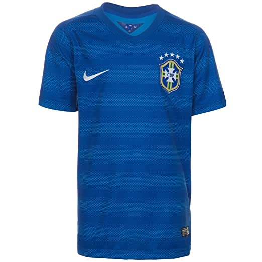 a81f49704e6 Amazon.com   Nike Brazil Away World Cup Jersey Size Youth XL   Clothing