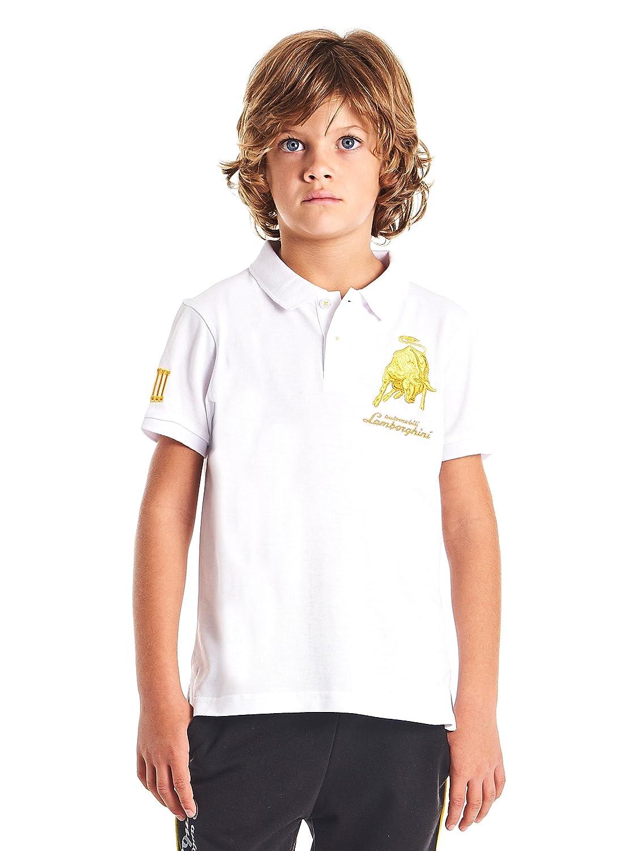 Automobili Lamborghini Junior Lamborghini Kids Bull LXIII Polo Shirt 9010852CC