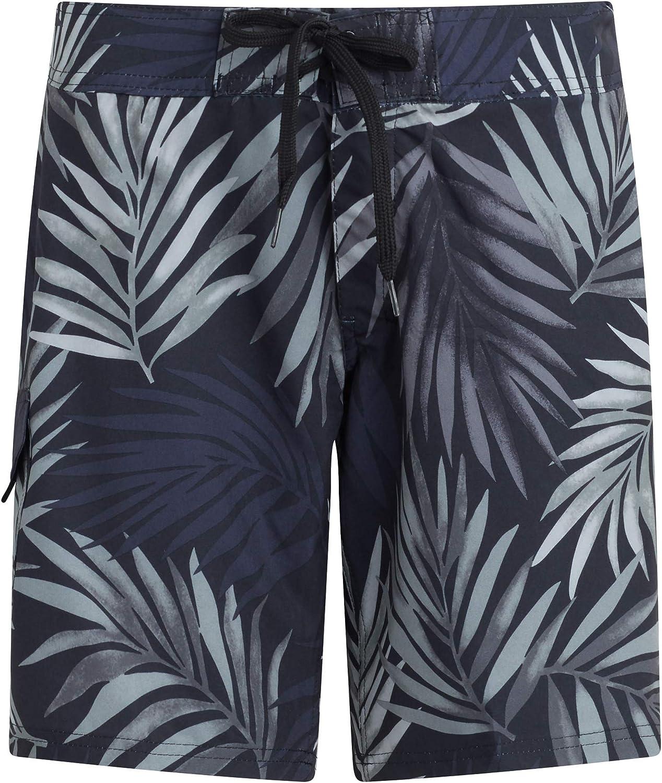 Womens Soft Hawaii Waves Camper Fashion Beach Shorts Swim Trunks Board Shorts