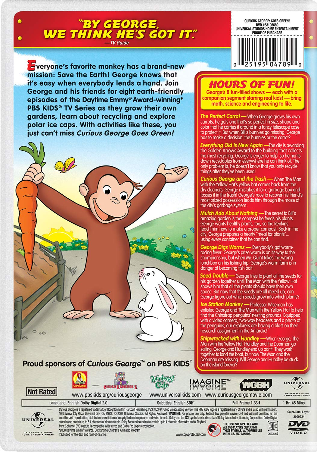 Curious George - George looks happy his tower of ice cream | 1500x1053