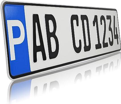 Teile 24 Eu Malinowski 1 X Parkplatz Kennzeichen Parkplatzschild Wunschkennzeichen Dhl Versand Auto