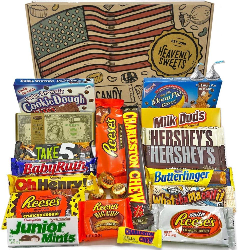 Gran Cesta Chocolate Americano | Surtido de 23 artículos incluido ...