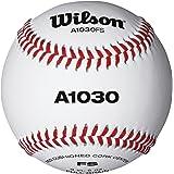 Wilson A1030 Flat Seem Baseball (1 Dozen)
