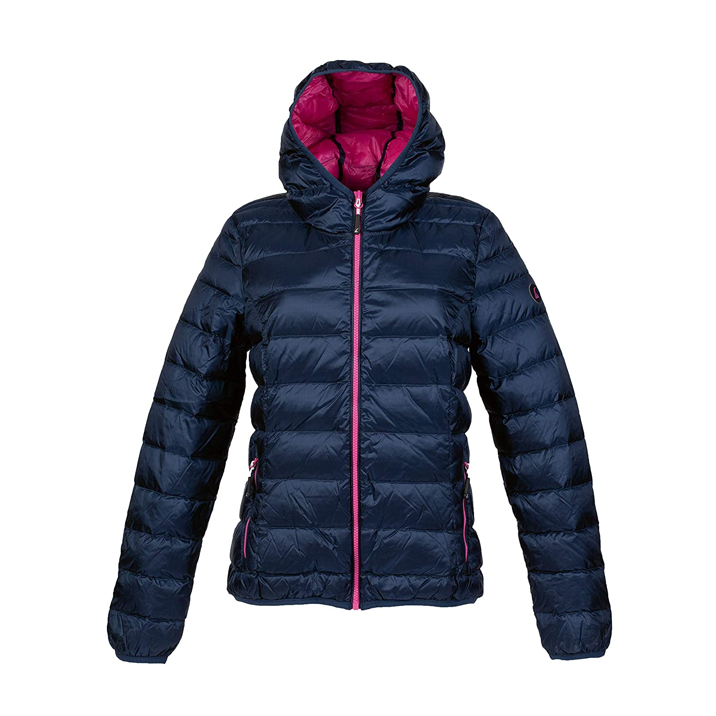 Alvivo warme Jacke Damen Winter Wanderjacke Skijacke Navy