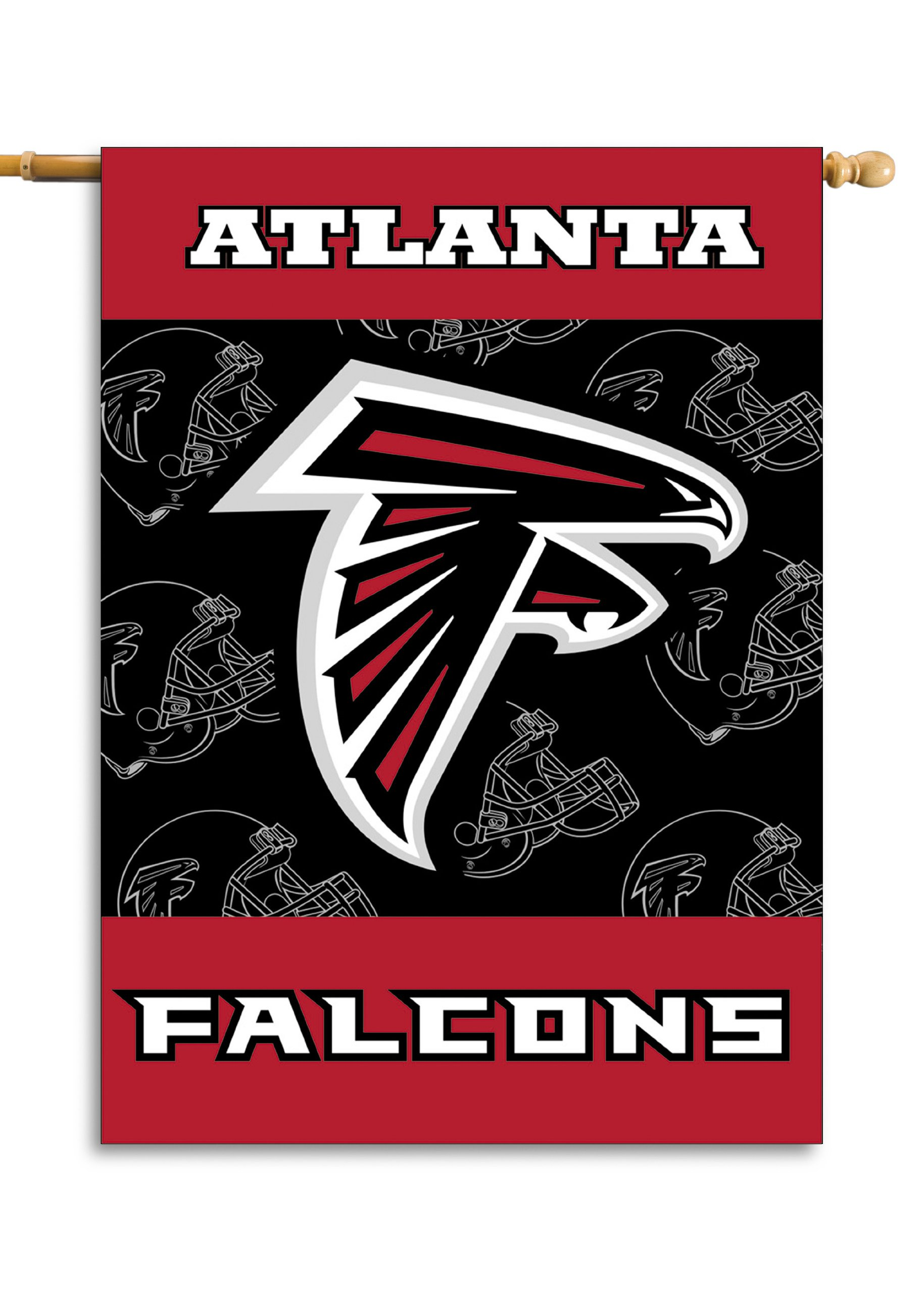 NFL Atlanta Falcons 2-Sided 28-by-40-Inch House Banner