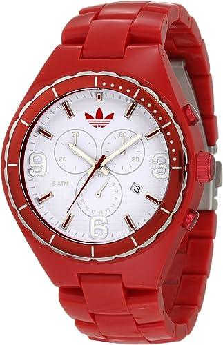 Detener Dar derechos Escuchando  Amazon.com: adidas ADH2617 Cambridge - Reloj para hombre, color rojo:  Watches