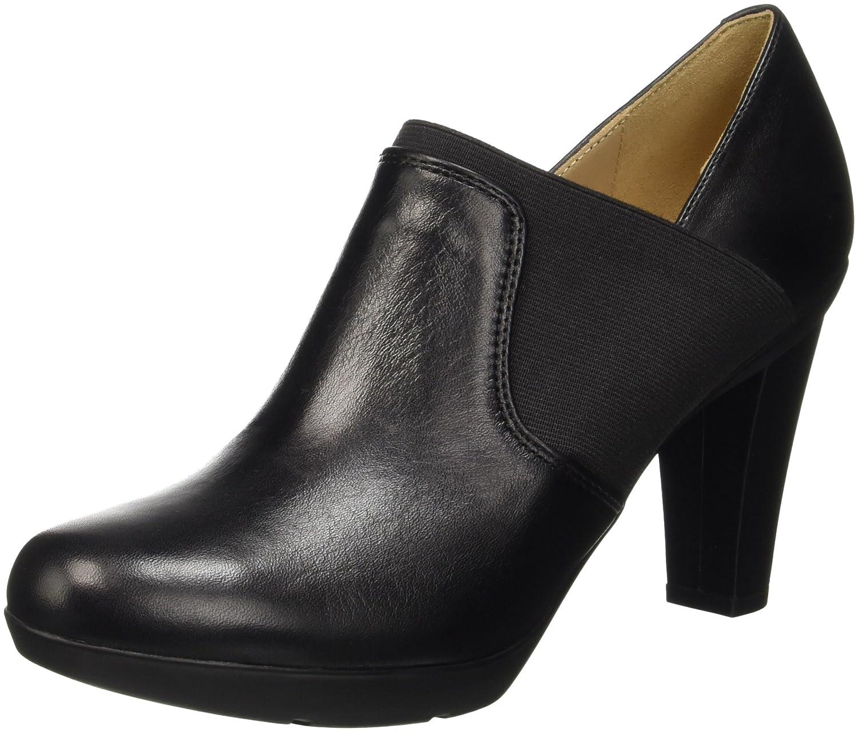 Geox D Inspiration B, Zapatos de Tacón para Mujer 41 EU|Negro (Blackc9999)