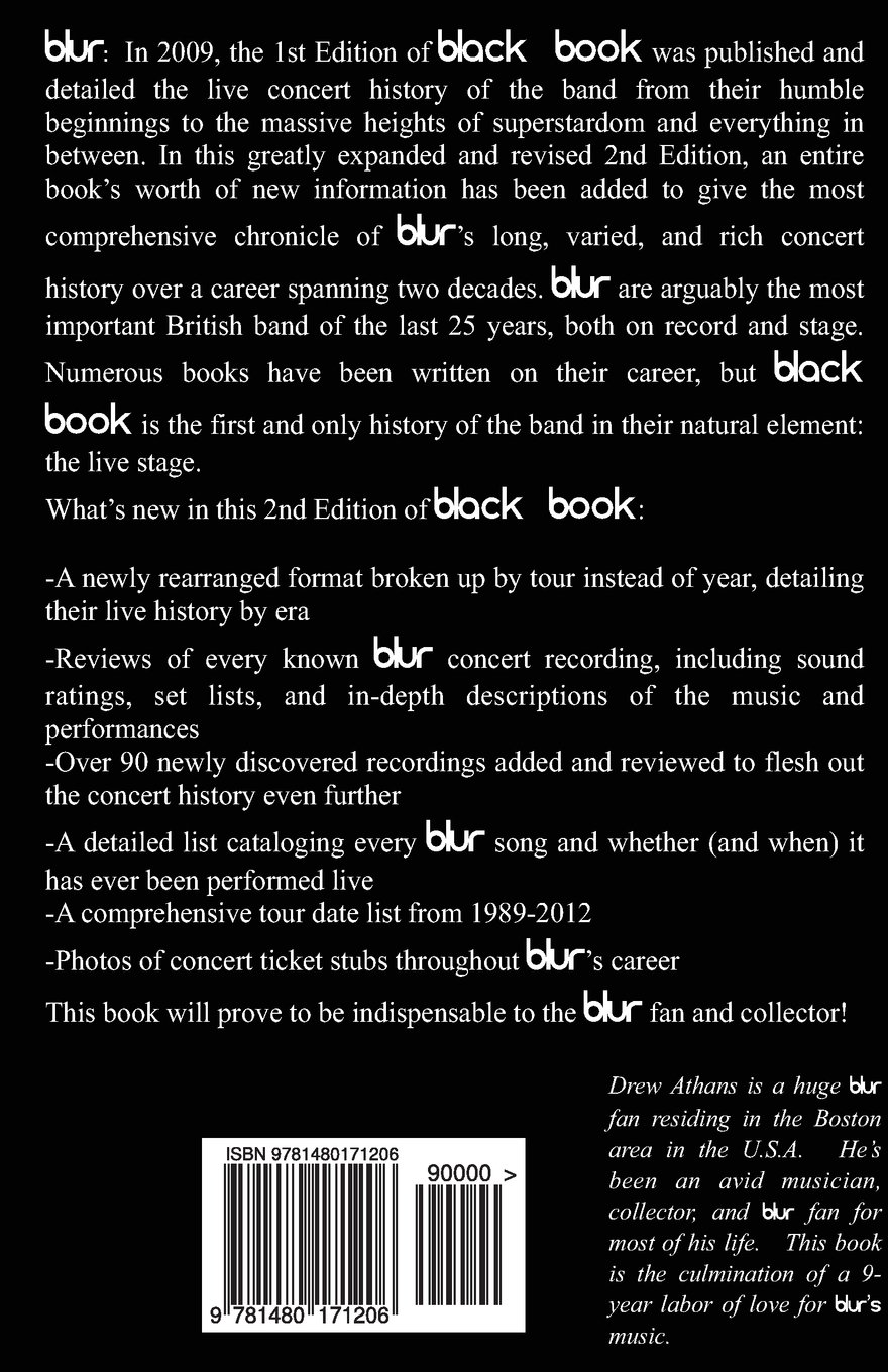 Black Book: The Live History of blur
