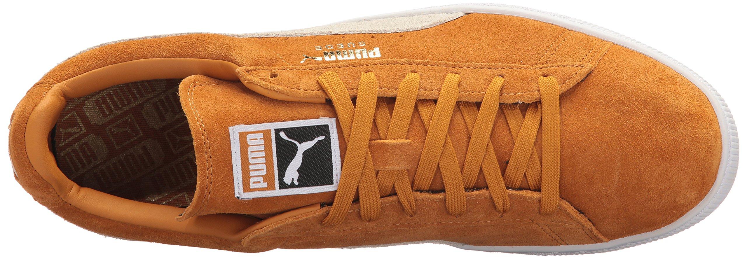 quality design 0f9aa 3bc77 PUMA Men's Suede Classic Fashion Sneaker, Inca Gold-puma ...