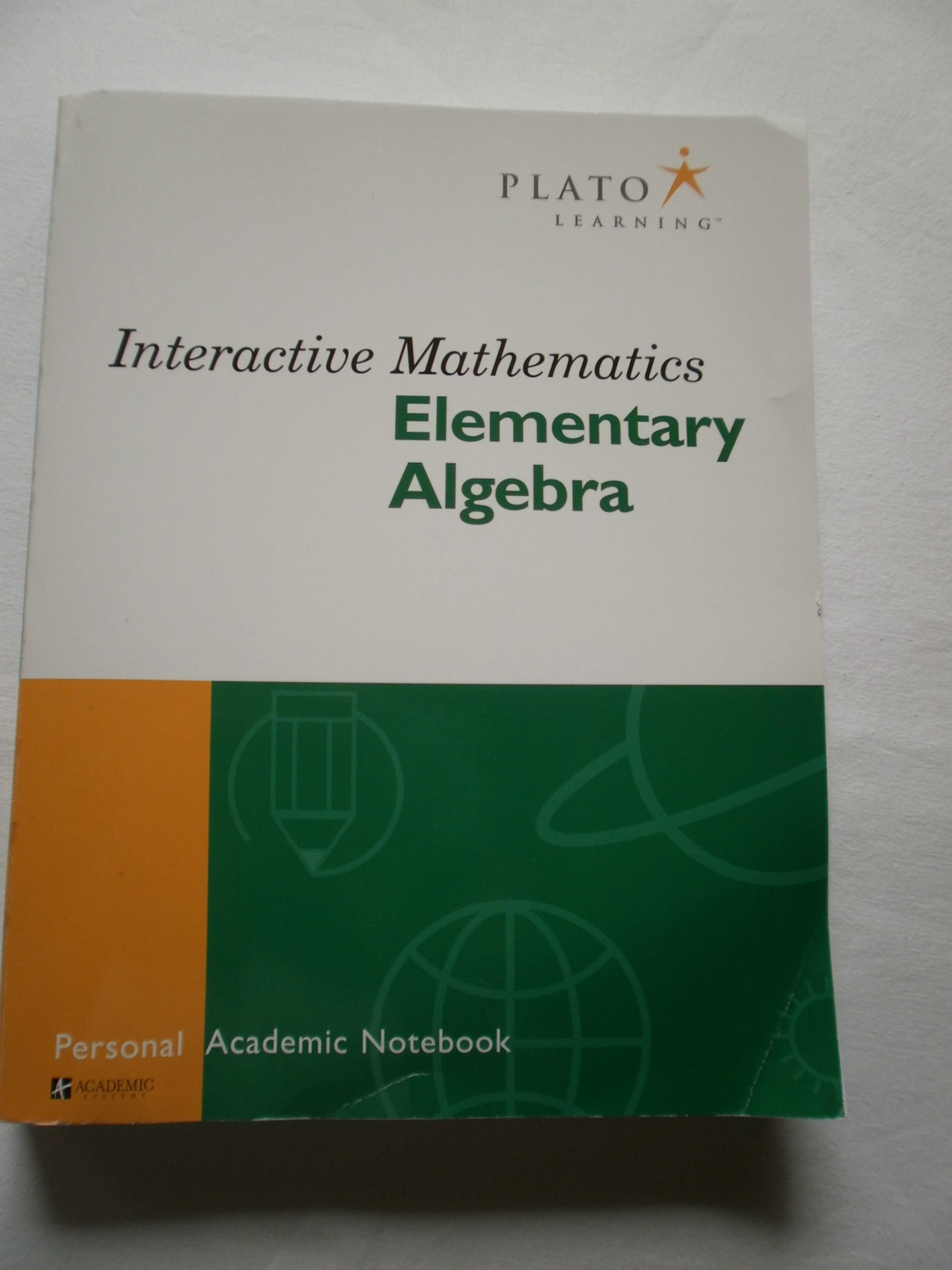 interactive mathematics elementary algebra personal academic interactive mathematics elementary algebra personal academic notebook academic systems academic systems corporation 9781577724162 com books