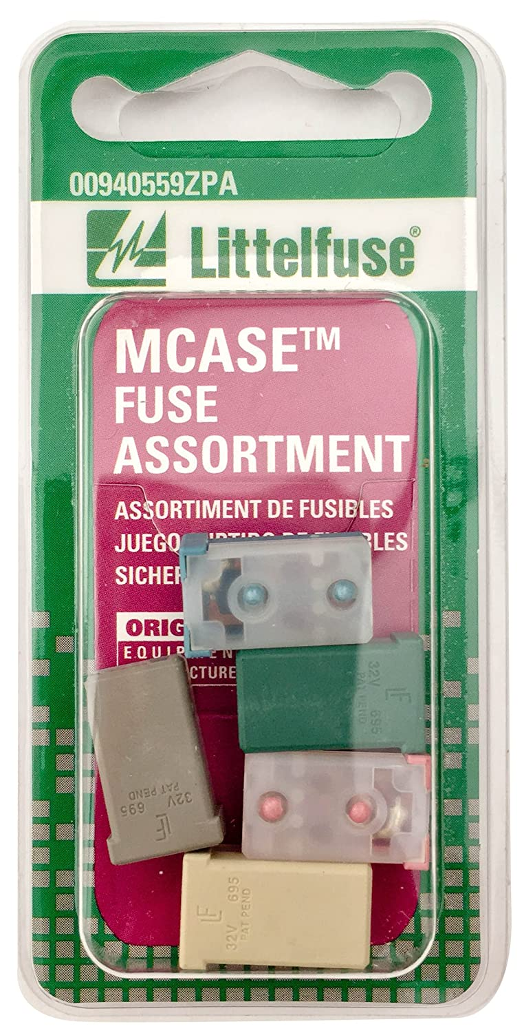 Littelfuse 00940559ZPA MCASE 32V Fuse Assortment, (Pack of 5)