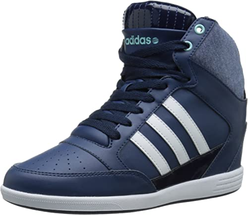 adidas neo super wedge sneaker womens