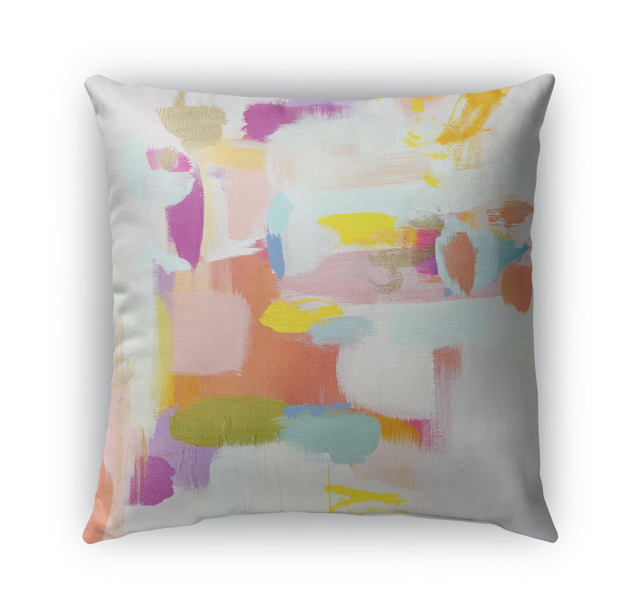 KAVKA DESIGNS Botox Bingo Throw Pillow, Multicolored - 26'' x 26''
